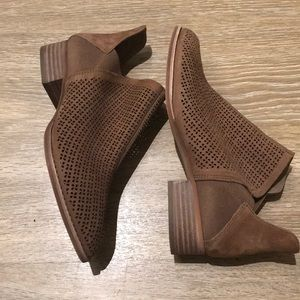Vince Camuto Chestnut Booties